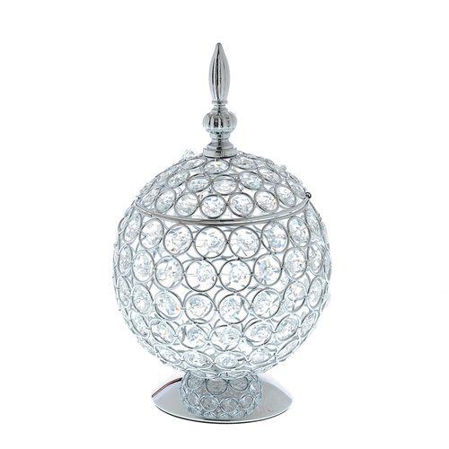 Decoratiune interioara, glob cu cristale acrilice
