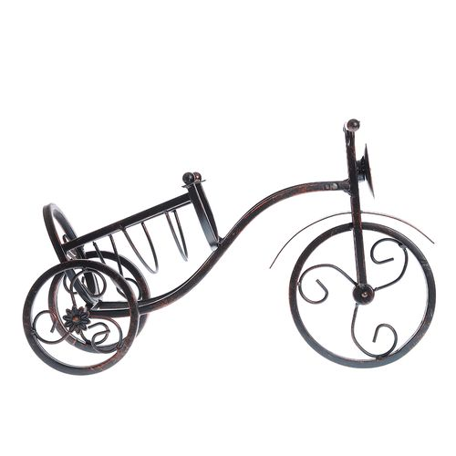 Suport sticla vin, tricicleta