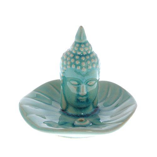 Suport betisoare, ceramica turcoaz