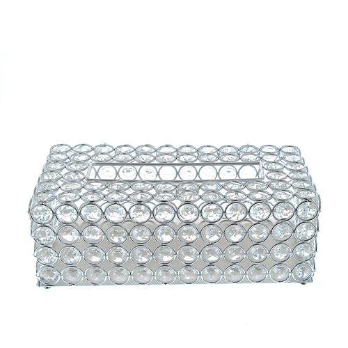 Suport servetele, cu cristale acrilice