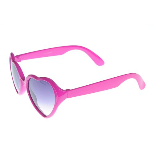 Ochelari de soare roz cu inimi