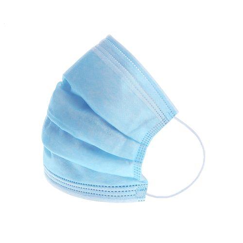 Masca protectie de unica folosinta, 3 straturi, 50 buc /set