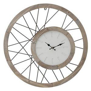 Ceas modern din lemn