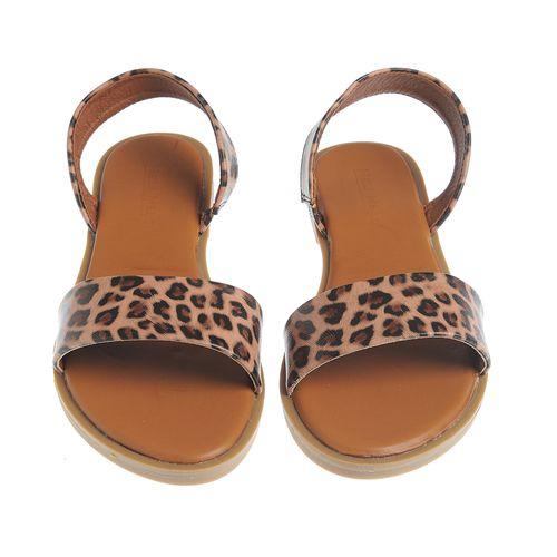 Sandale joase, animal print