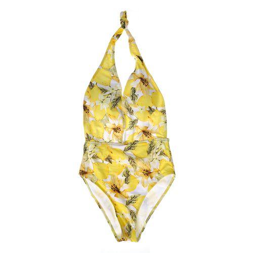 Costum de baie intreg, nuante galbene