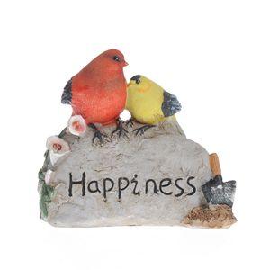 Statueta colorata happiness