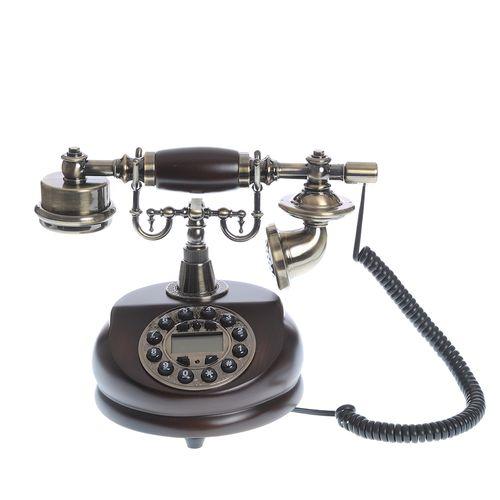 Telefon vintage, cu butoane dispuse disc