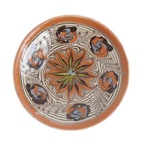Farfurie decorativa, ceramica HOREZU