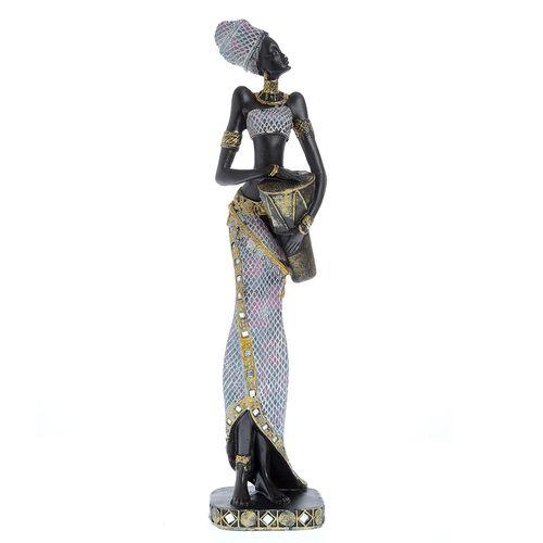 Statueta africana silueta subtire
