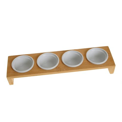 Set 4 recipiente sushi