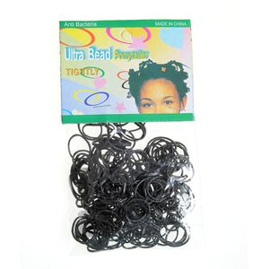 Set elastice afro negre