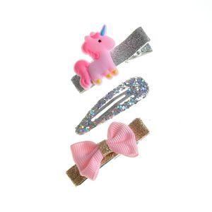 Set 3 accesorii par cu sclipici