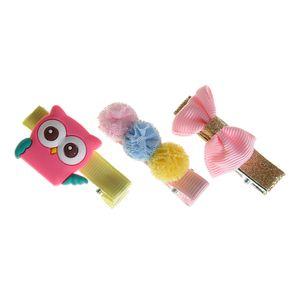 Set 3 accesorii par colorate