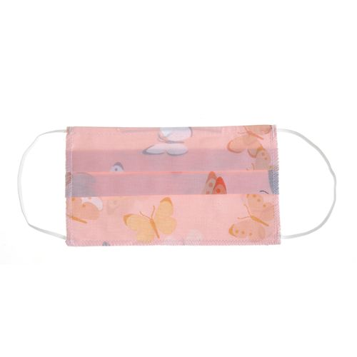Masca textila roz
