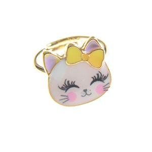 Inel pisicuta roz de copii