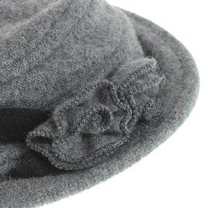 Palarie dama lana gri