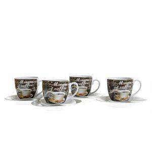 Set 4 cesti Espresso