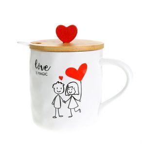 Cana cu capac Love