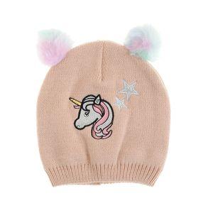 Caciula roz unicorn