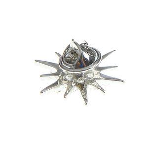 Brosa atractiva fulg argintiu
