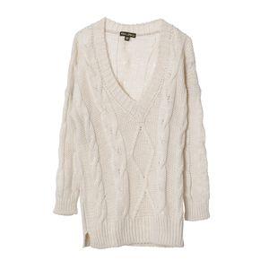 Pulover tricotat cu anchior