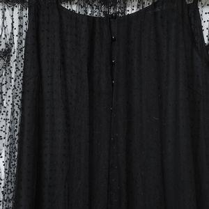 Rochie dantela neagra buline
