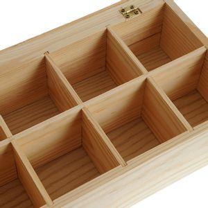 Cutie lemn organizator ceai