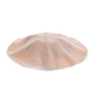 Caciula roz tricotata lejer