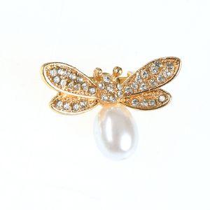 Brosa martisor cu perla acrilica