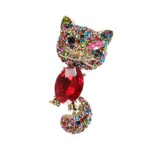 Brosa martisor elegant pisica