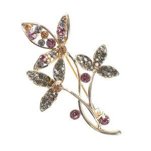 Brosa martisor buchet flori
