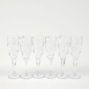 Set 6 pahare cristal FLUTE