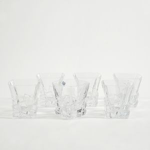 Set cristal pahare whisky