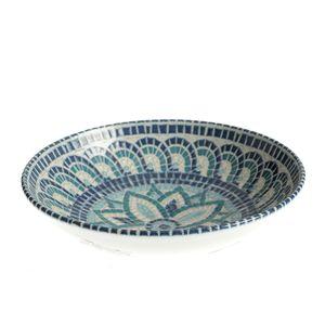 Bol ceramic albastru