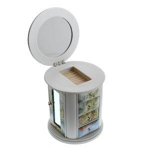 Cutie cilindrica bijuterii