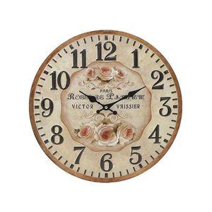 Ceas de perete cu cadran rotund 40x2x40 cm