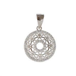 Pandantiv din argint model mandala