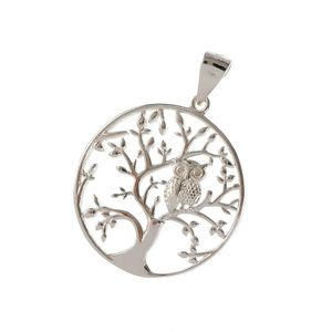 Pandantiv din argint design Copac