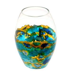 Vaza plata sticla
