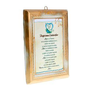 Tablou Rugaciunea Casatoritilor 19 x 14 x 2 cm