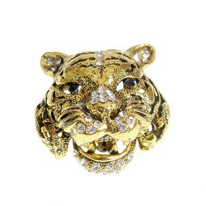 Brosa tigru auriu antichizat