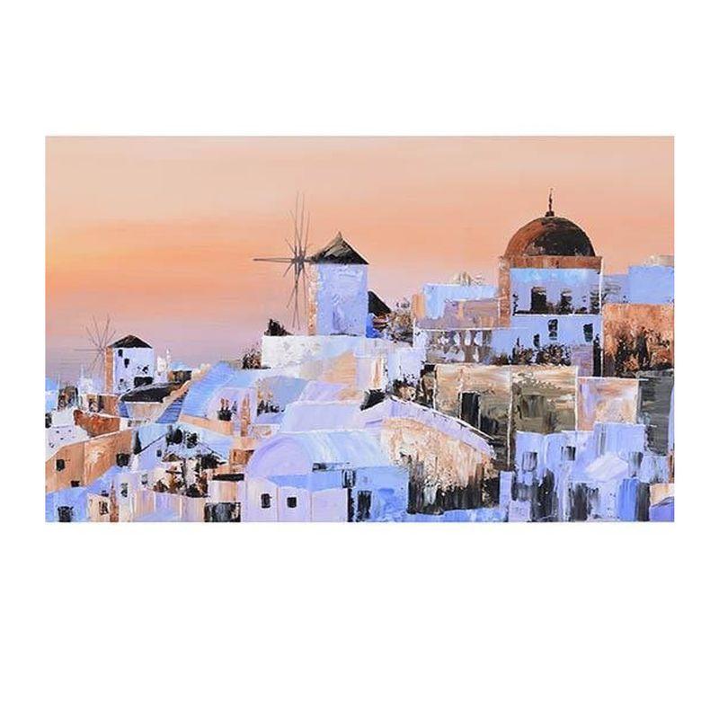 tablou-peisaj-Grecia-detalii