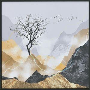 Tablou Canvas Peisaj  Abstract 60x 60cm