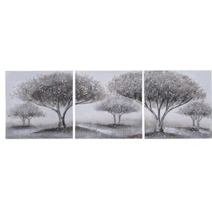 Set tablouri copaci multicanvas 3 piese