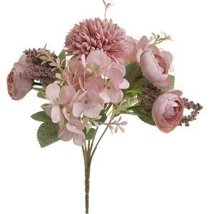 Buchet de flori artificiale roz