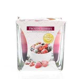 Lumanare pahar fructe