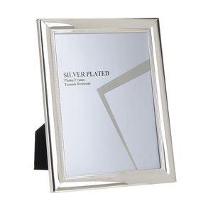Rama foto cadru metalic argintiu