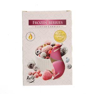 Set 6 lumanari pastile fructe