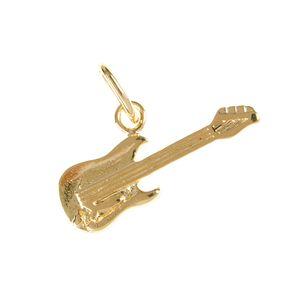Pandantiv placat cu aur model chitara