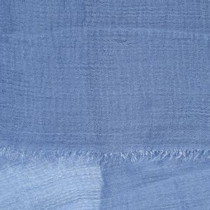 Esarfa creponata bleu